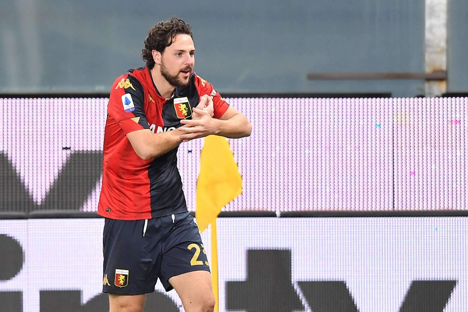 Дестро забил красивый гол в Серии А с бутылкой в руке