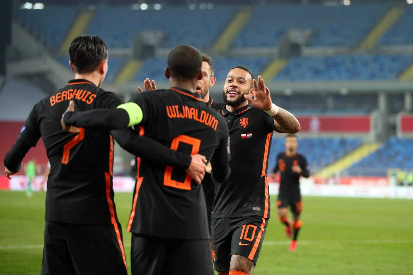 Голландия – Австрия - 2:0 (закончен)