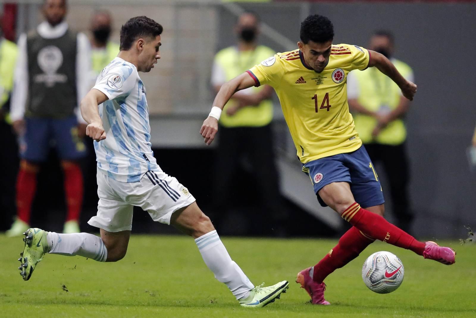 Колумбия на последних секундах красивым голом вырвала третье место на Кубке Америки