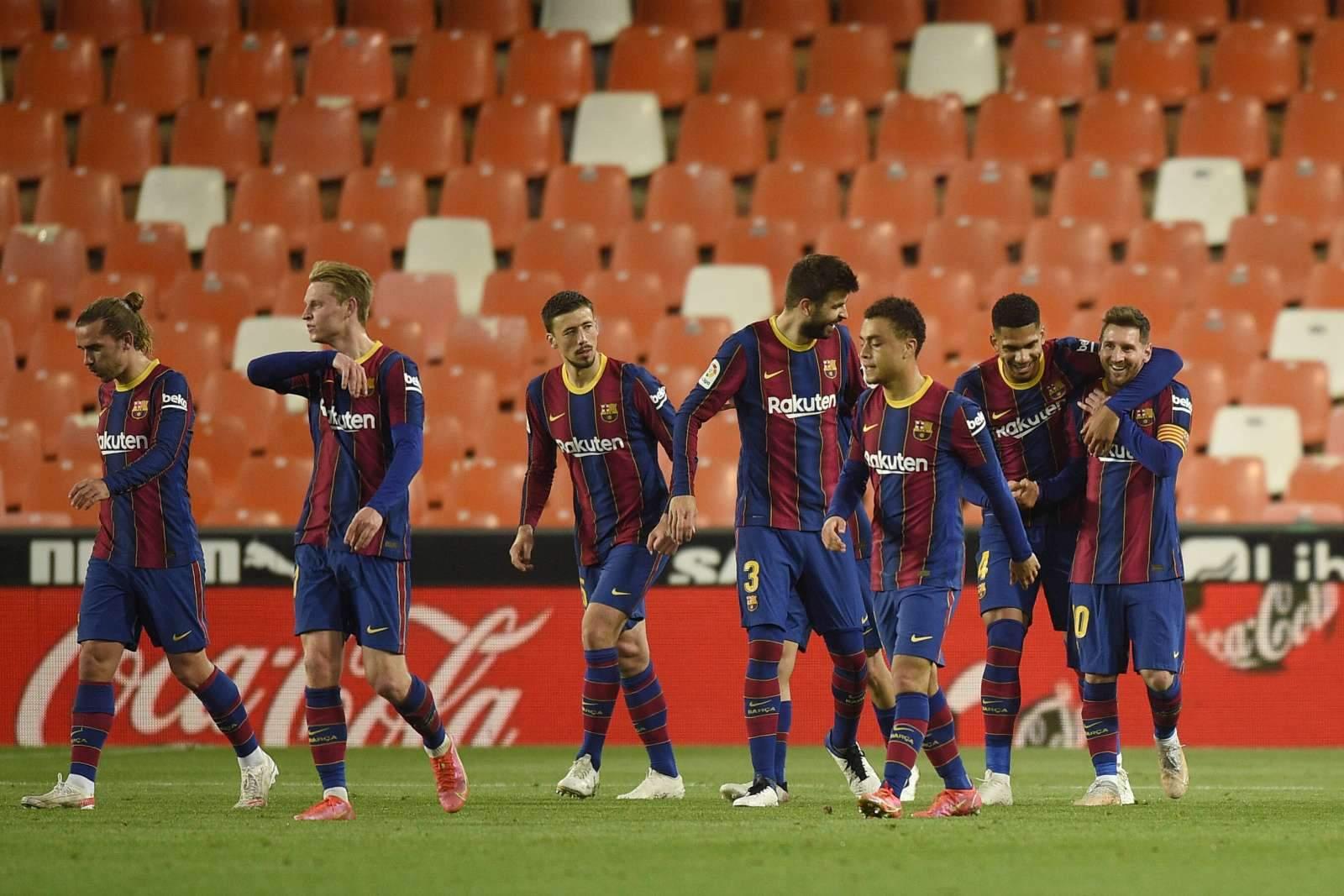«Леванте» - «Барселона»: прямая трансляция, составы, онлайн - 2:3