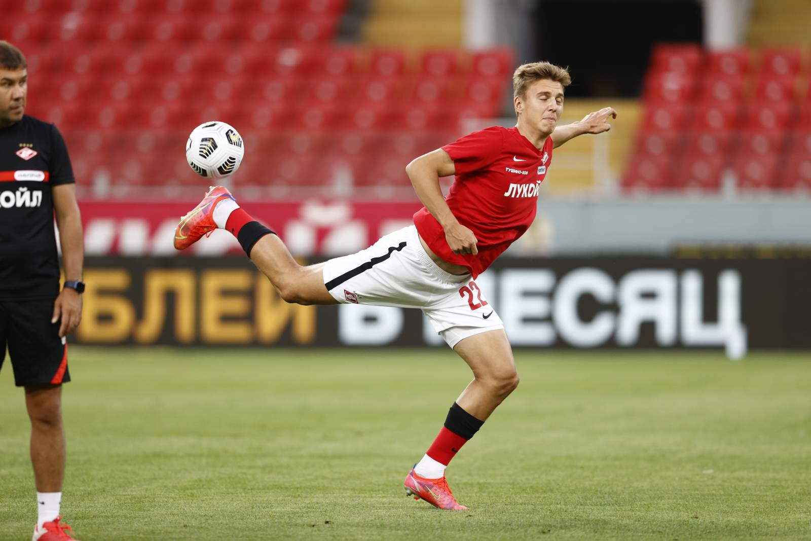 «Спартак» благодаря голу Игнатова повёл в счёте в матче с «Наполи»