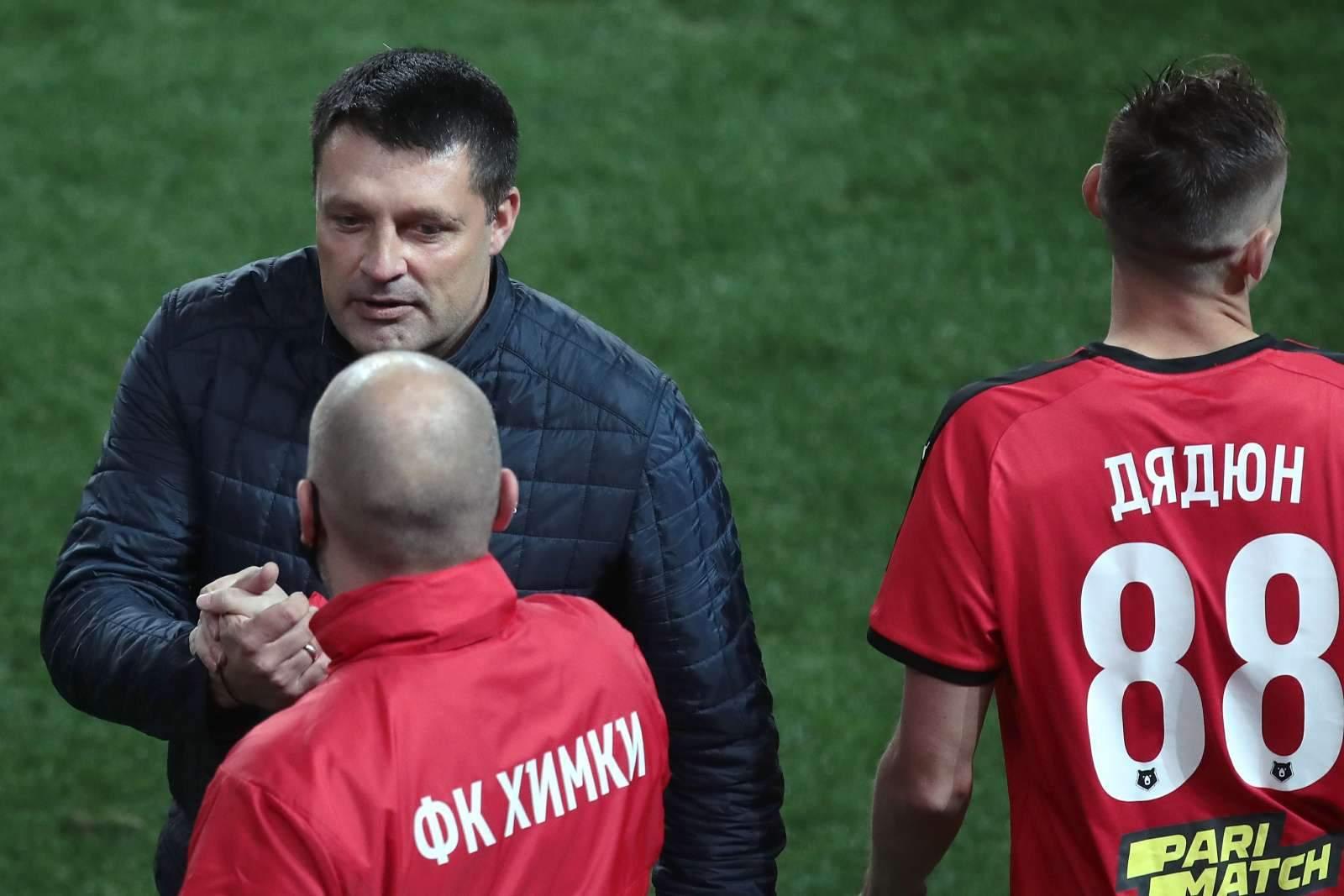 Черевченко: «Сегодняшний матч доказал, что «Тамбов» заряжен на победу»