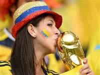 Болельщицы и болельщики чемпионата мира: страсти накаляются