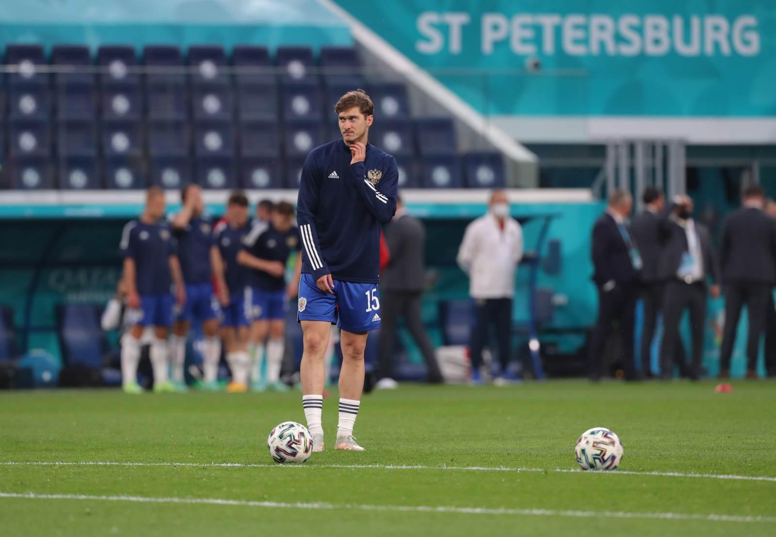 Миранчук забил первый гол сборной России на Евро-2020