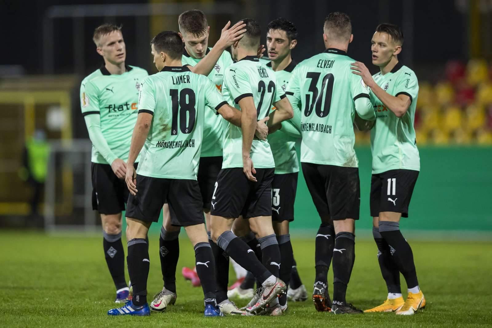 «Боруссия» из Мёнхенгладбаха забила пять мячей в ворота «Арминии»