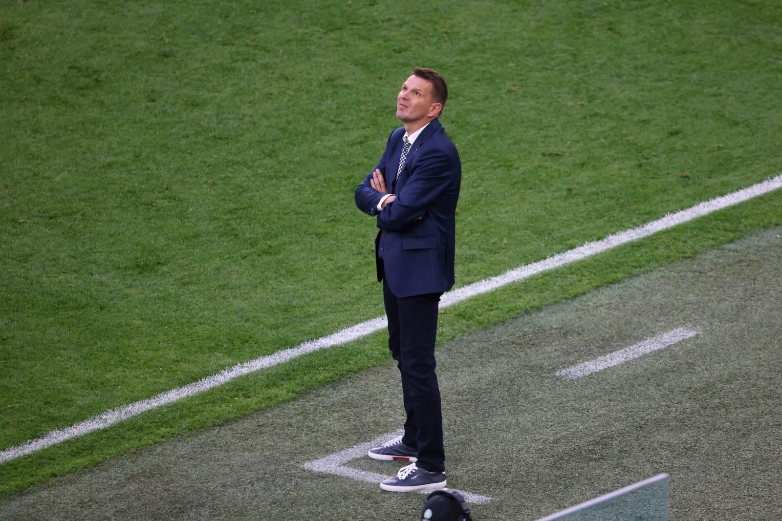 Наставник сборной Словакии: На нас давит результат матча с Россией