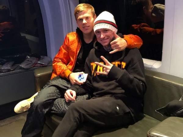 Кокорин и Мамаев вместе уехали после матча «Спартак» - «Ростов»