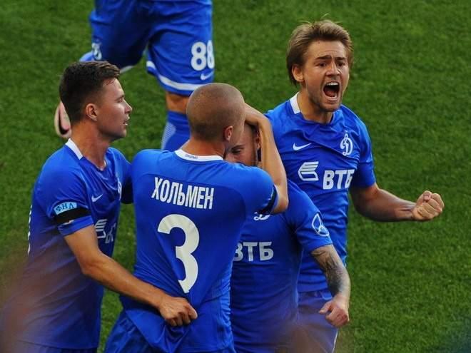 Московское «Динамо» увезло три очка из Грозного
