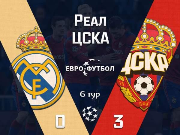 """ЦСКА разгромил в Мадриде """"Реал"""", но остался без еврокубковой весны"""