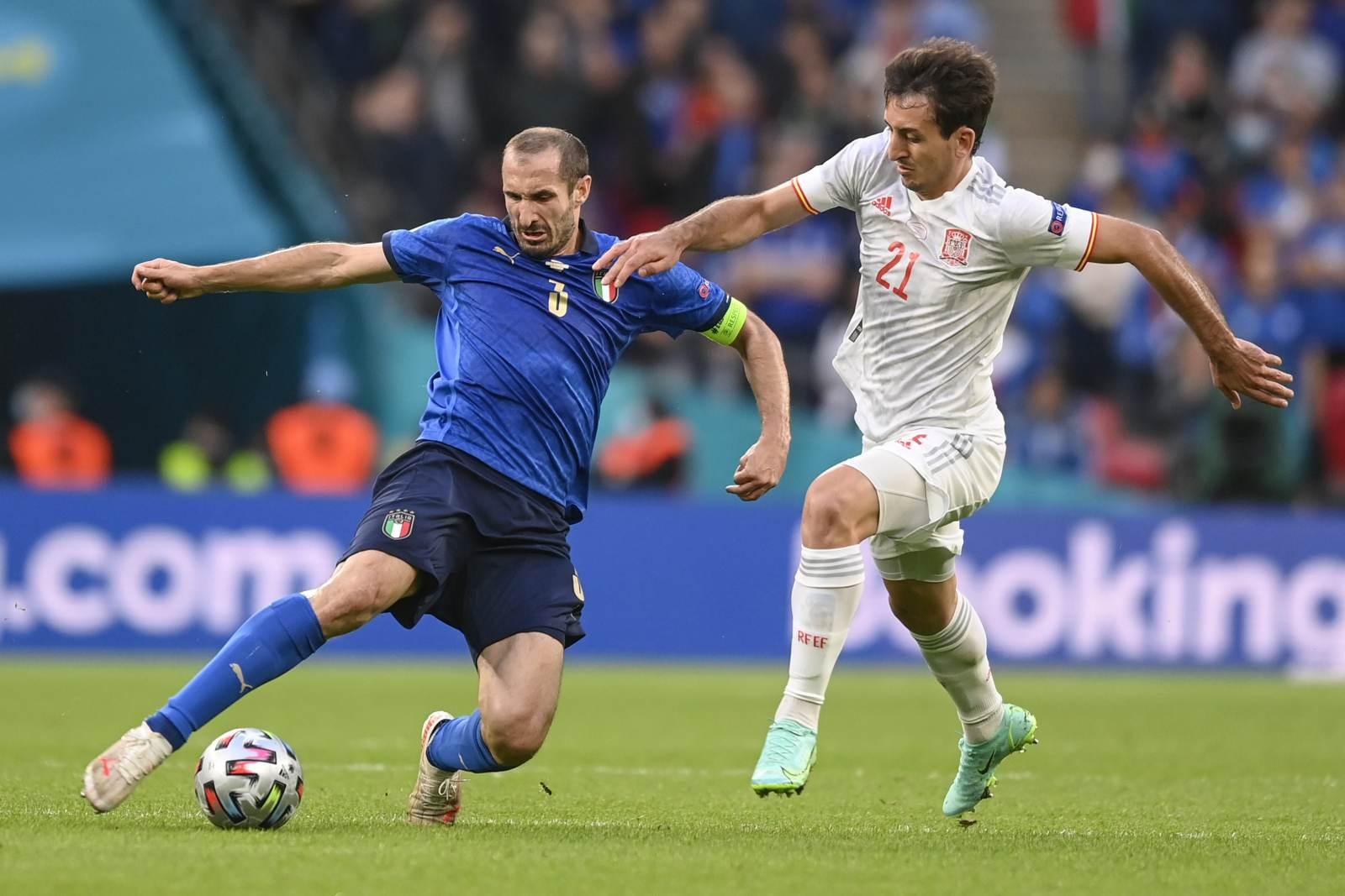 Кьеллини назвал ингредиенты, позволившие сборной Италии дойти до финала Евро