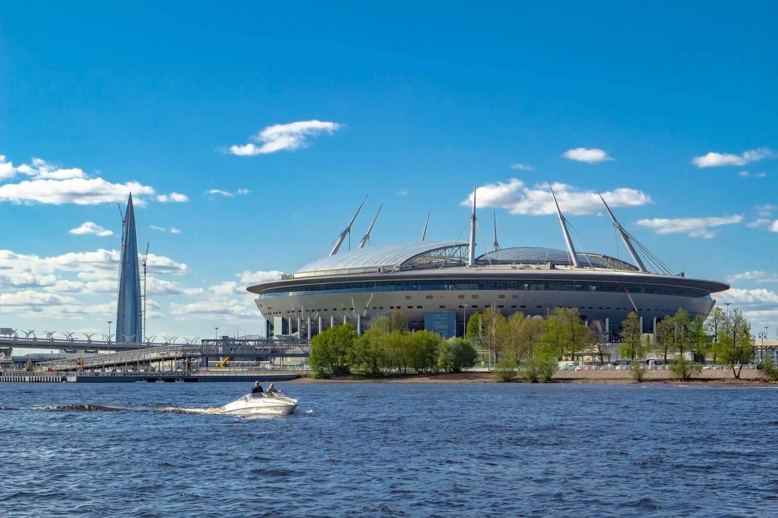 «Газпром-Арена» - на 14-м месте в рейтинге самых дорогих стадионов мира