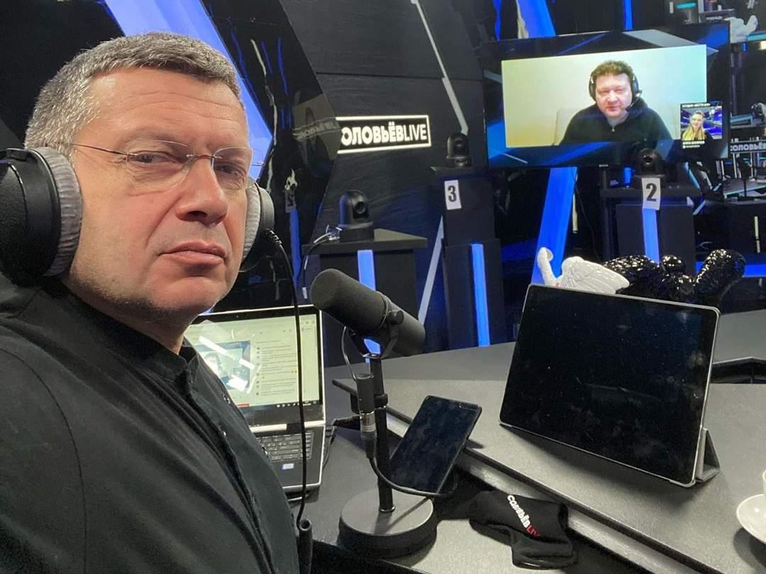 Соловьёв – Уткину: «Ты меня – еврея  - пытаешься назвать фашистом»
