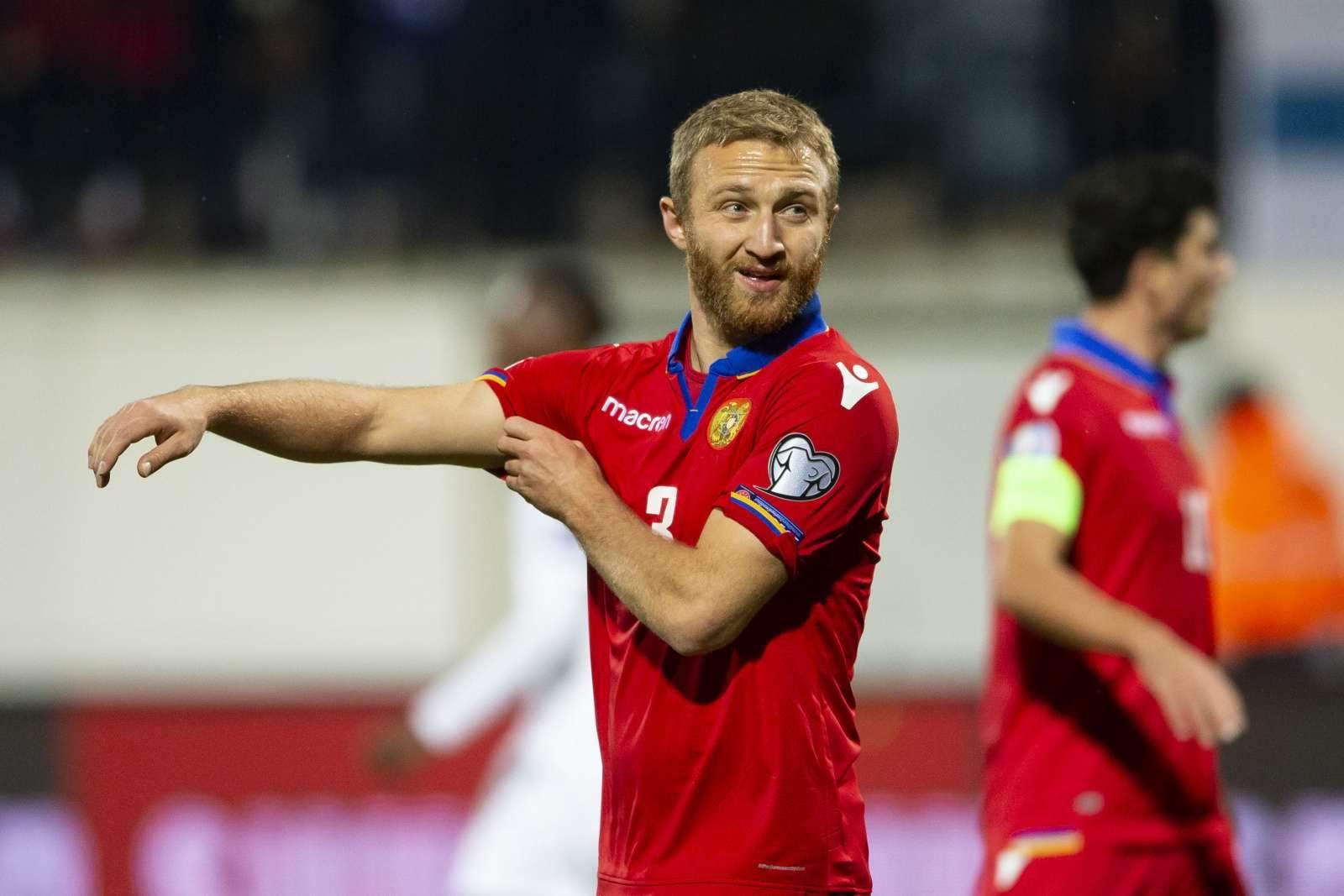 Ароян - первый армянский футболист, забивший гол в Ла Лиге