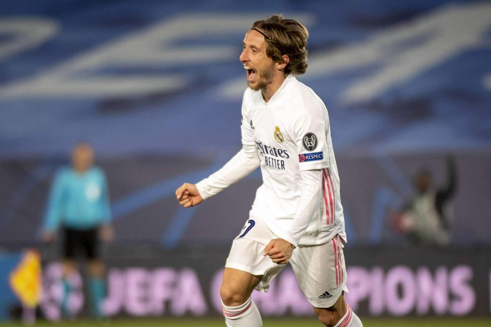 «Реал» продлит контракт с Модричем