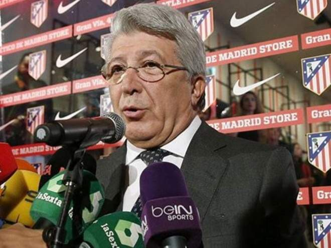 Президент «Атлетико» Сересо: «Симеоне – легенда нашего клуба, мы наслаждаемся самым ярким десятилетием в истории»