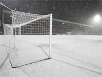 Два матча чемпионата Голландии были отменены по причине снегопада