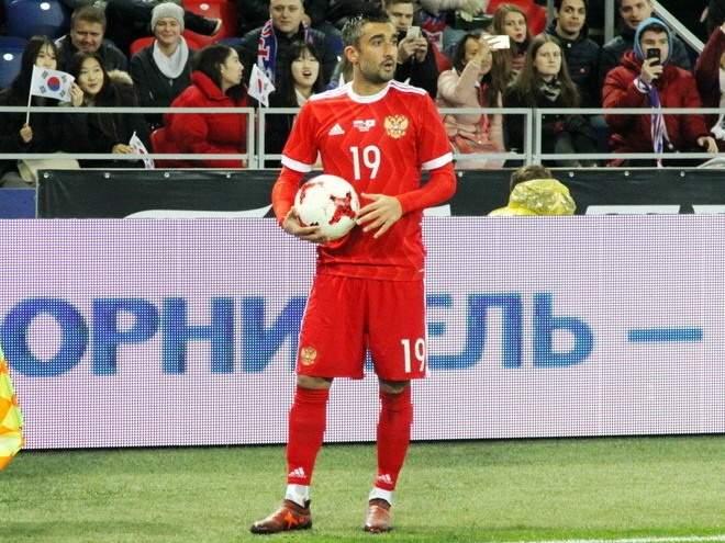 """Черчесов: """"Самедов был одним из базовых и системных игроков сборной"""""""