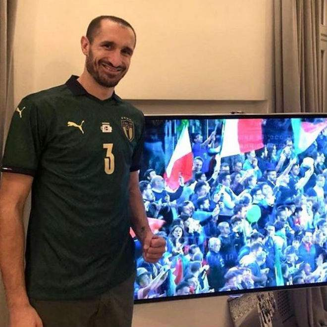 Кьеллини: «Тотти должен был выиграть «Золотой мяч», Оуэн и Шевченко были не лучше»