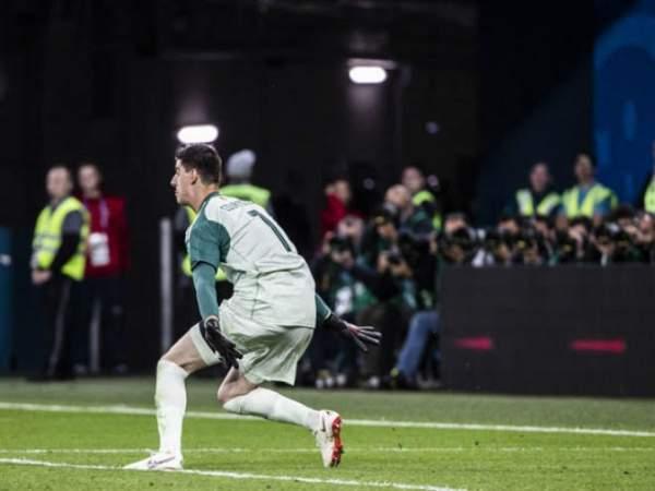 «Реал» готов платить «Челси» заКуртуа 35млневро