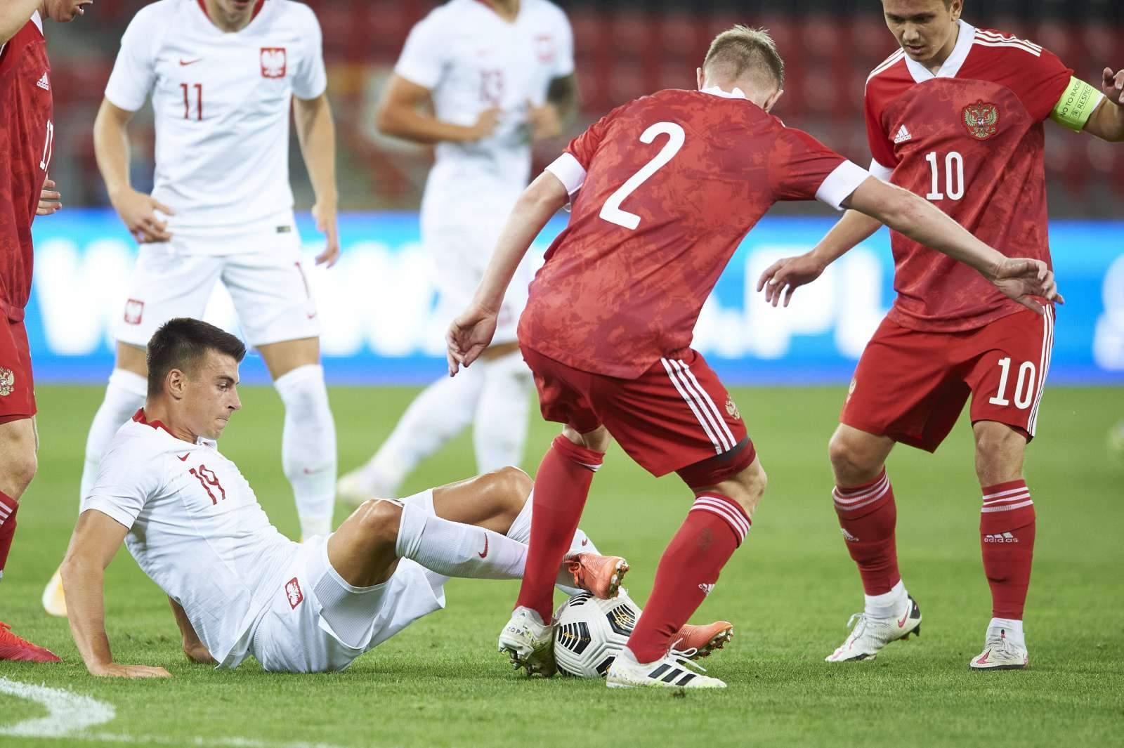 Молодёжная сборная России забила шесть мячей Мальте