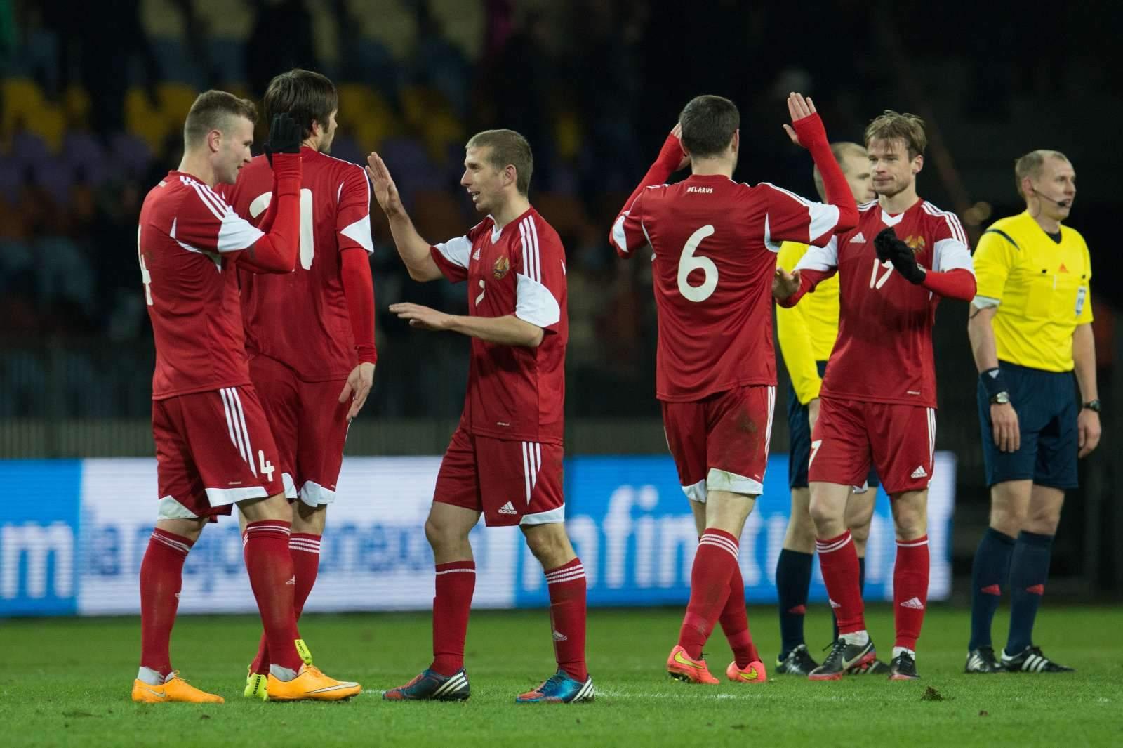Беларусь не смогла одолеть Гондурас, играя почти тайм вдесятером