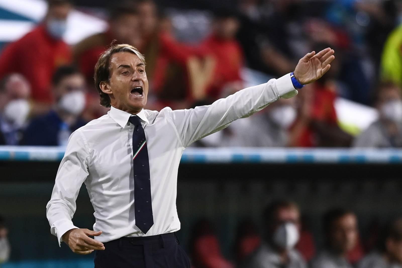 Манчини: «Спинаццола был лучшим защитником на Евро»