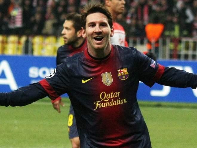 """""""Барселона"""" в мае возобновит переговоры по новому контракту с Месси"""