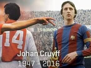 Прощай, Дед: футбольный мир скорбит о Йохане Кройффе