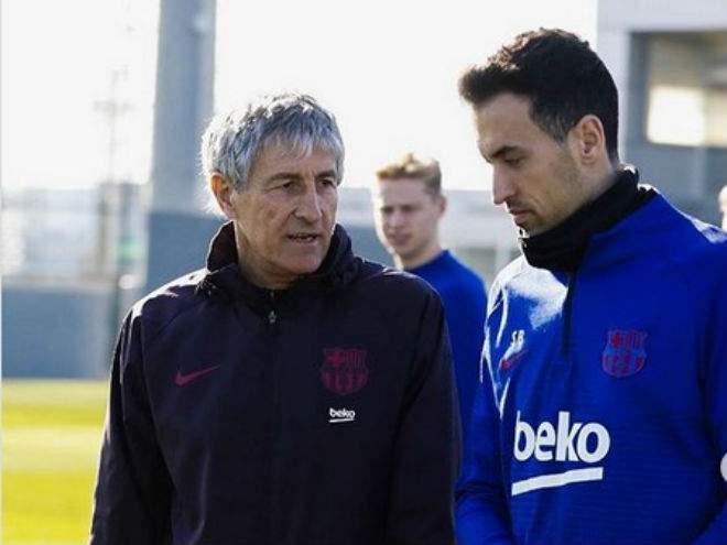 Сетьен: «Барселона» хочет стать чемпионом, доиграв все матчи»
