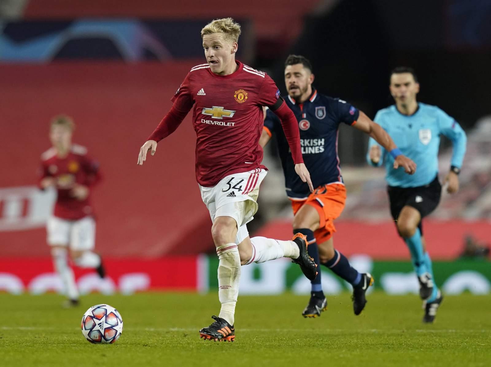 «Манчестер Юнайтед» не расстанется с ван де Беком в январе