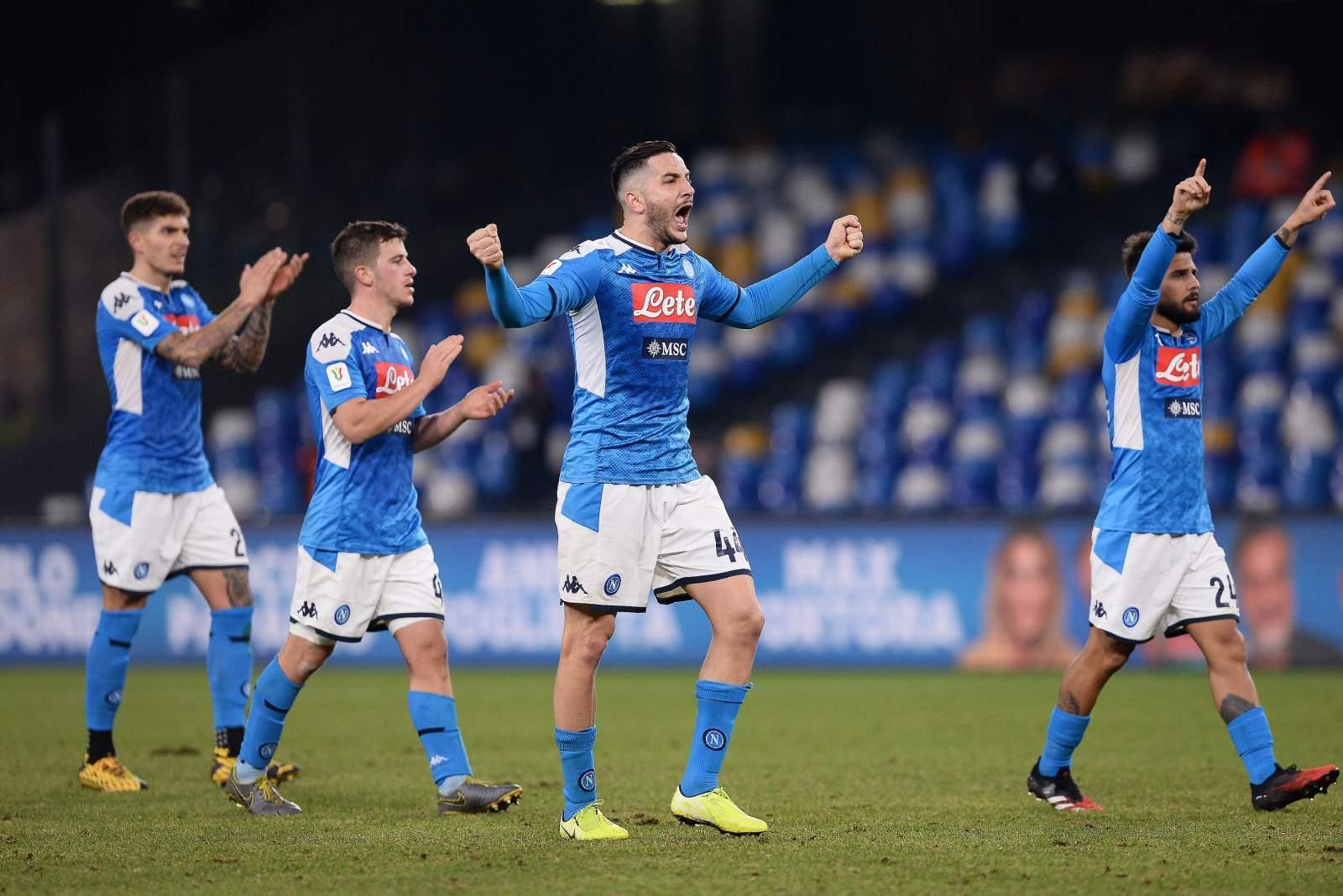 «Наполи» прошёл «Эмполи» в Кубке Италии