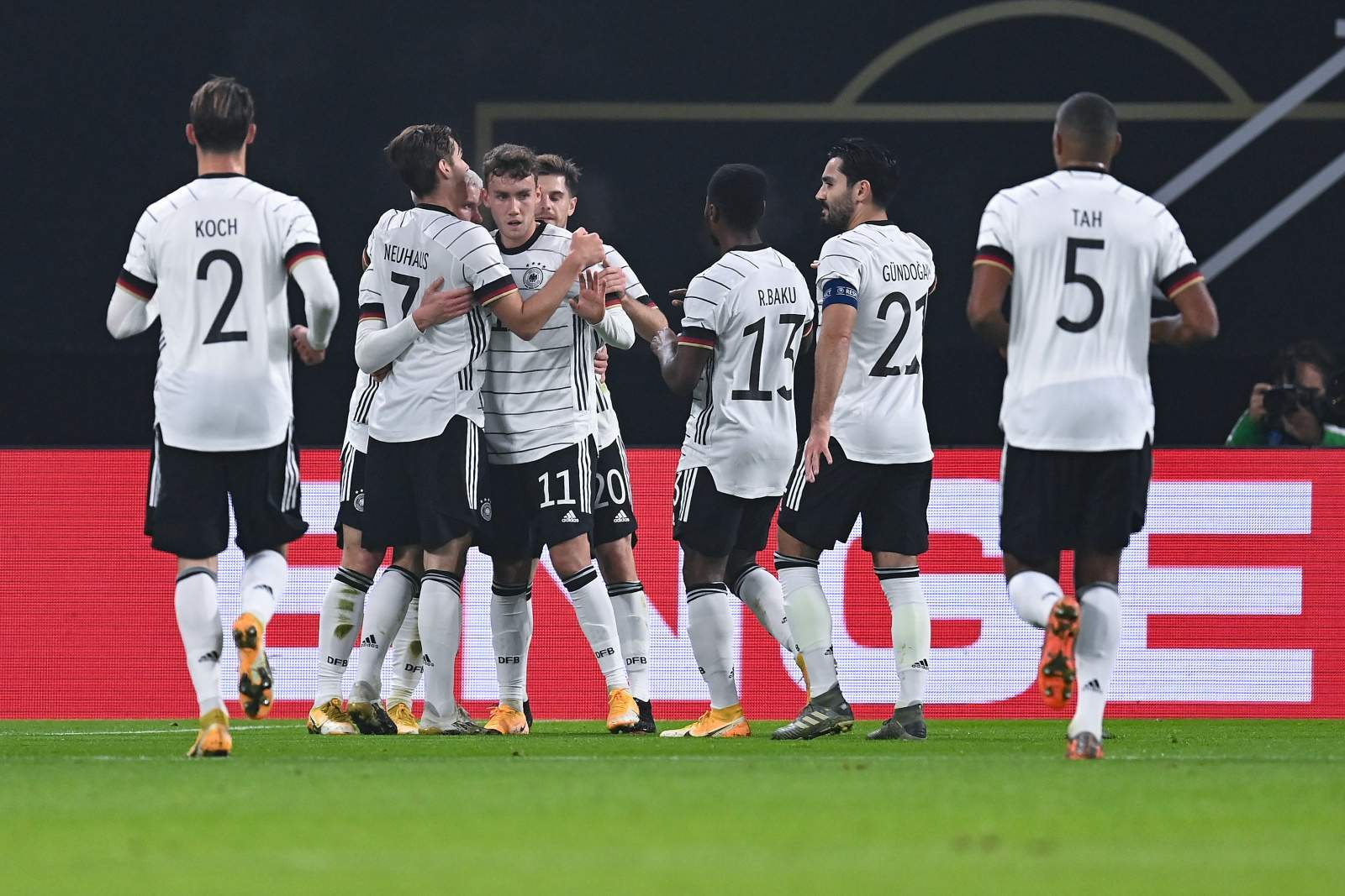 Сборная Германии забила 7 голов в ворота латвийцев