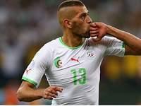 Слимани стал лучшим игроком поединка Алжир - Россия