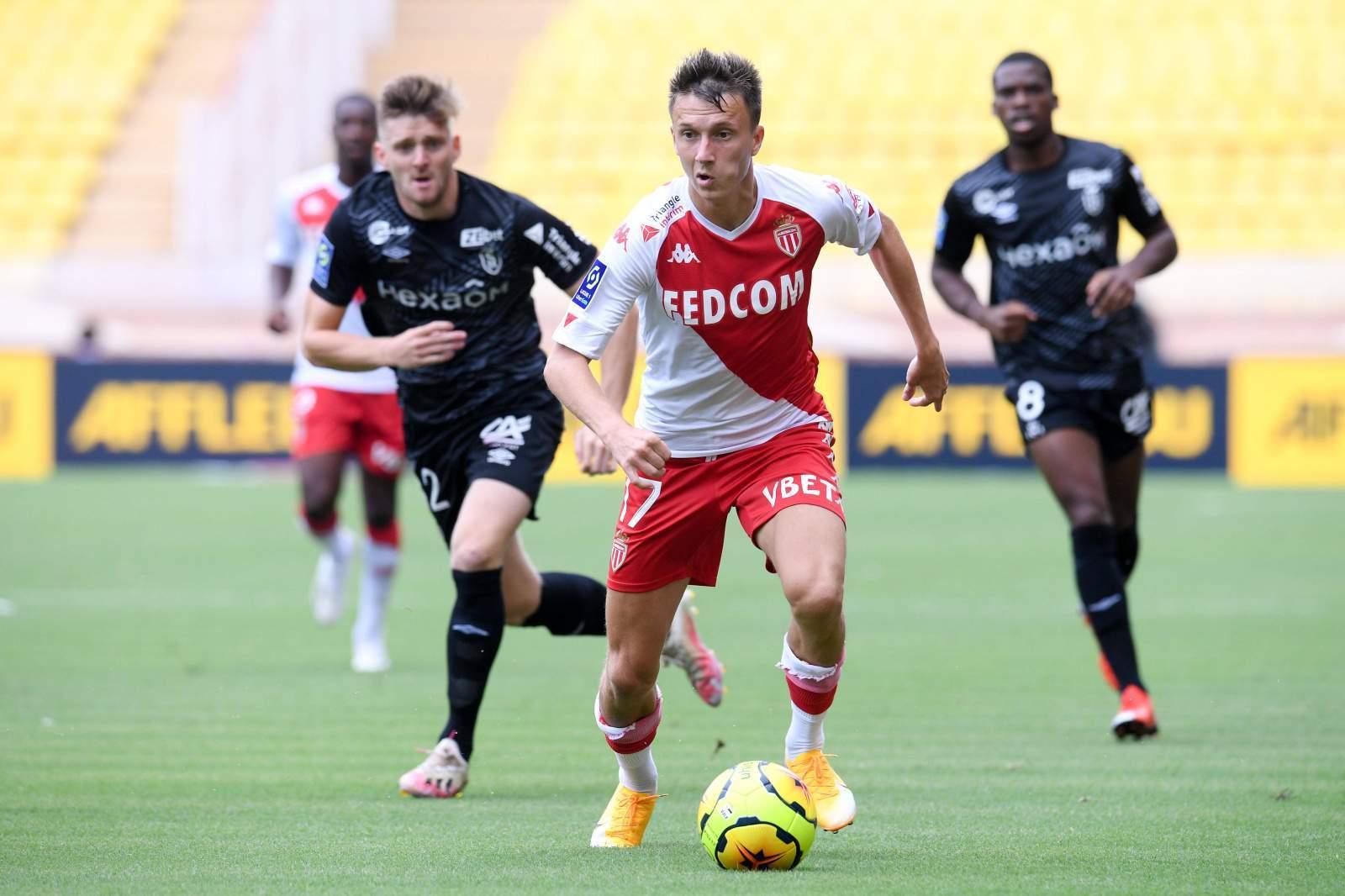 «Монако» был сильнее «Монпелье», Головин чудом не забил