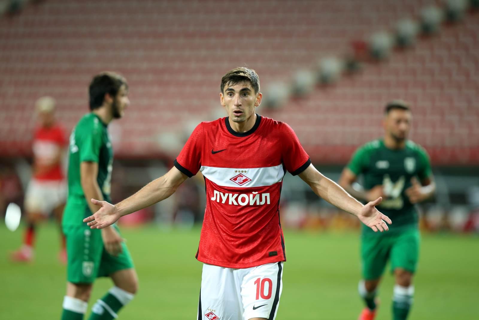 Бакаев: «Надеюсь, шансы пройти «Бенфику» ещё есть»