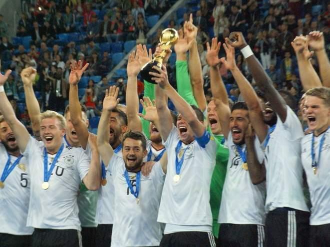 Сборная Германии вспомнила триумф на чемпионате мира-2014