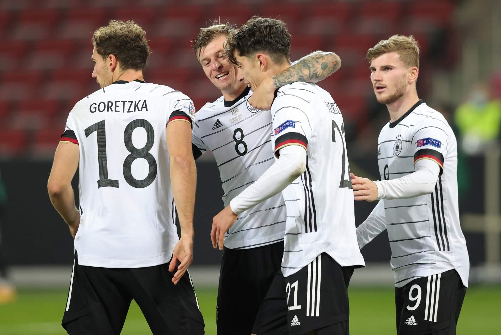 Германия – Чехия - 1:0 (закончен)