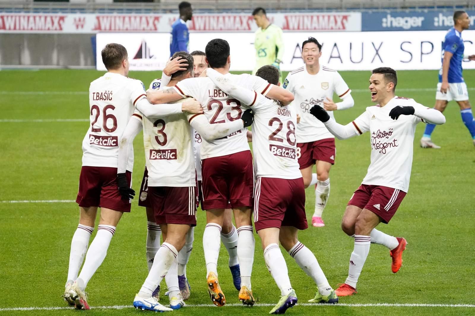 «Бордо» и «Страсбург» отпраздновали победы