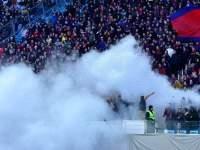 """Матч """"Тоттенхэм"""" - """"Партизан"""" прерван из-за поведения фанатов на поле"""