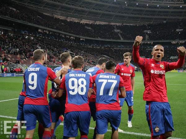 Три футболиста ЦСКА попали в команду недели Лиги чемпионов по версии УЕФА