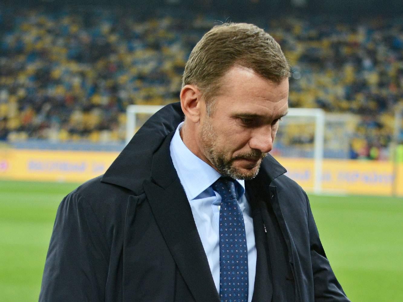 Шевченко: «Мы не смогли привезти наш лучший состав, чтобы как-то конкурировать с Францией»