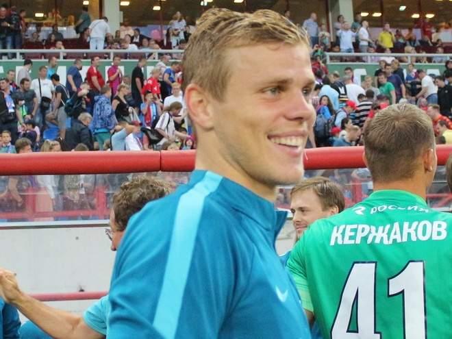 «Зенит»: «Готовы дать Кокорину шанс вернуться в футбол, заиграть в составе основной команды»