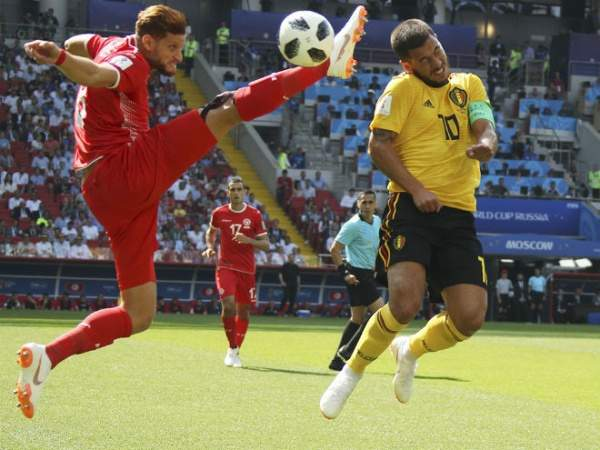 Азар - лучший игрок матча с Англией