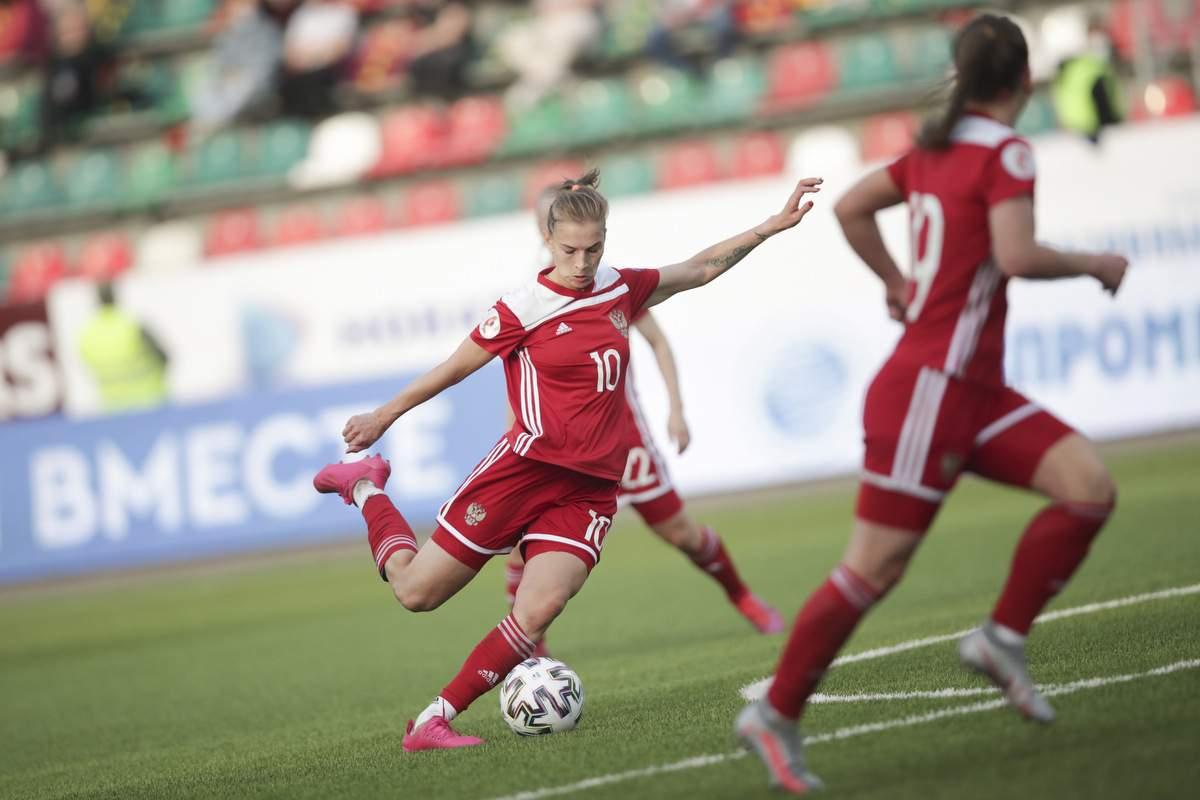 Женская сборная России вышла на чемпионат Европы, пройдя команду Португалии