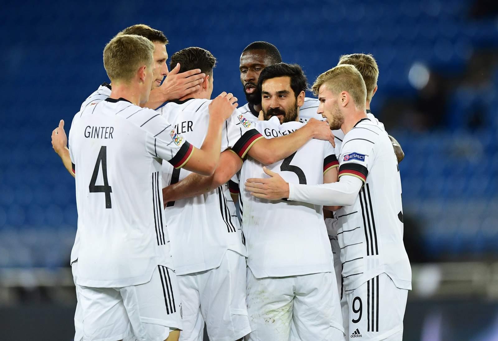 Германия - Латвия - 7:1 (закончен)