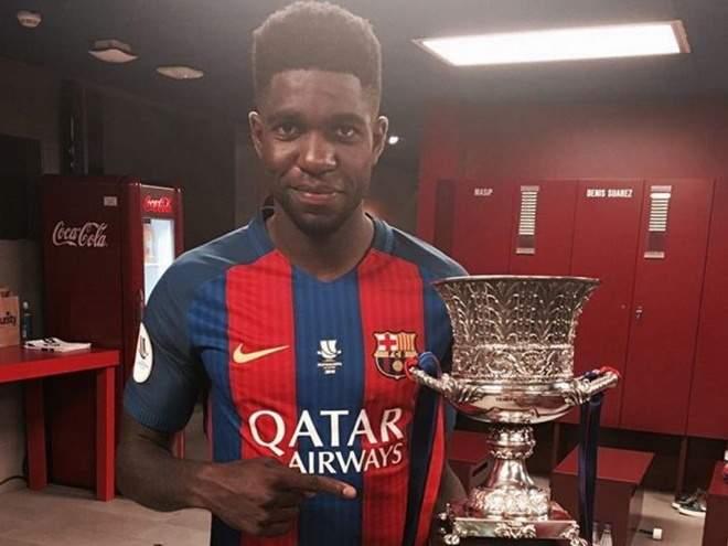 «Барселона» хочет включить Юмтити в сделку по Депаю