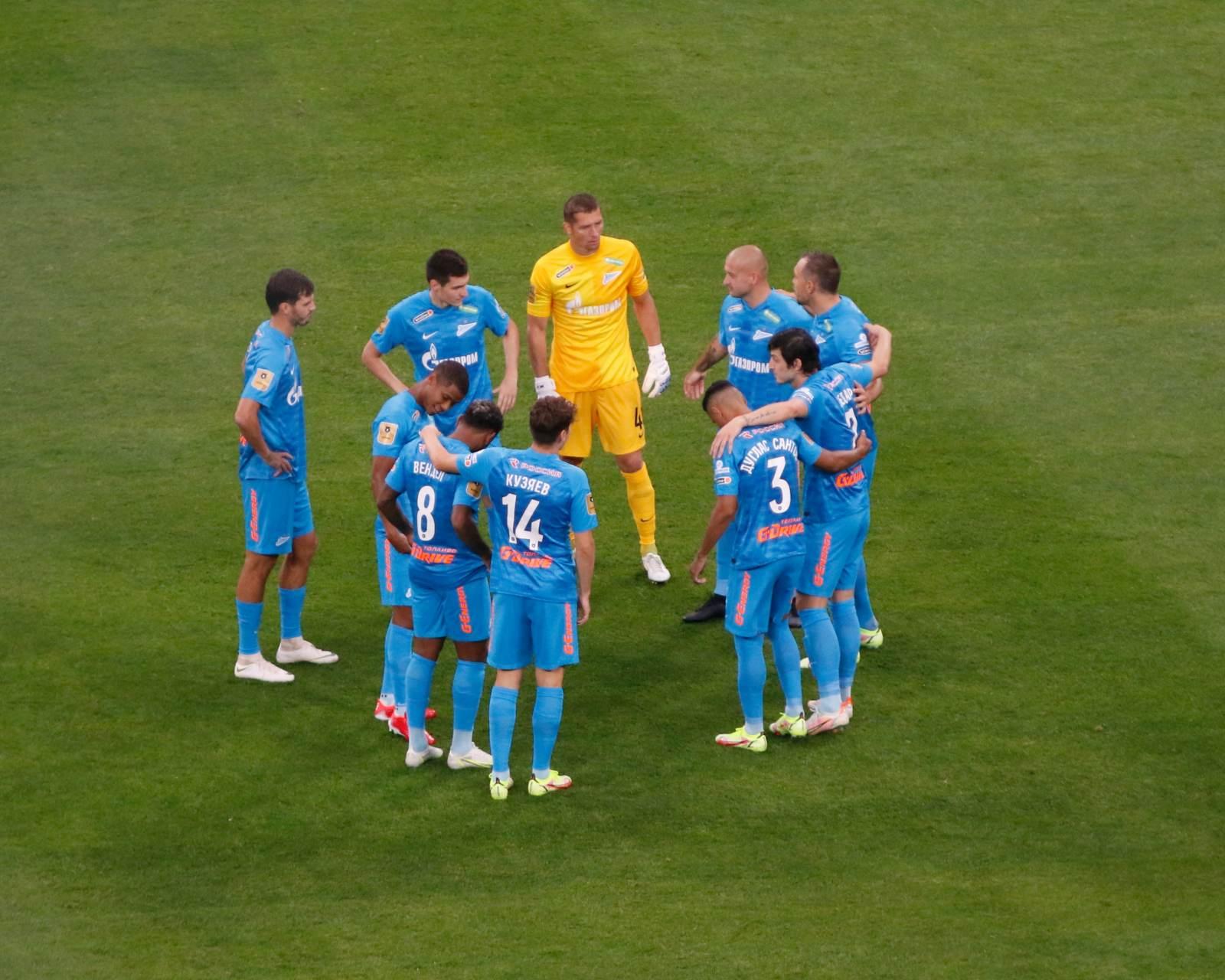 С кем может сыграть «Зенит» на групповом этапе Лиги чемпионов