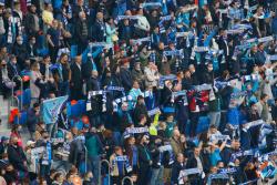 На матче за Суперкубок фанаты Зенита и Локомотива скандируют оскорбления