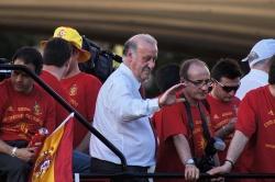 Висенте дель Боске отказался комментировать слова Переса в аудиозаписях