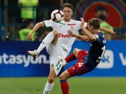 Антон Миранчук во второй раз признан лучшим футболистом «Локомотива»